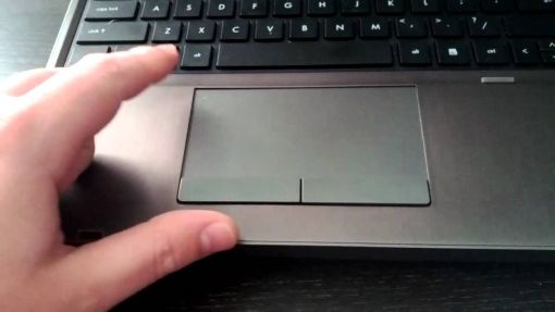 hp notebook touchpad